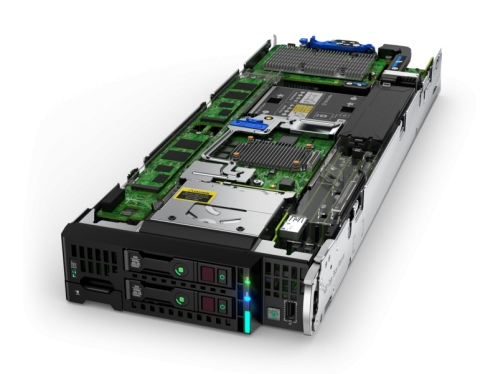 HP ProLiant BL460c Gen10 (2xGold 6140, no HDD)