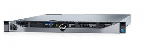 DELL PowerEdge R630 (1xE5-2630v4, no RAM, 600Gb SAS, H730)